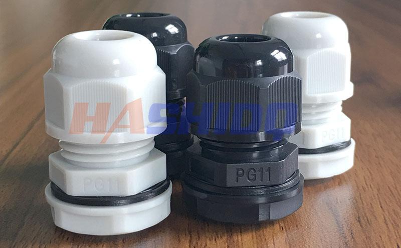 PG11尼龙电缆接头防水接头格兰头厂家直销 质量保障-- 浙江航仕电气有限公司