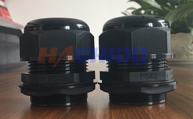 PG42尼龙电缆接头防水接头格兰头厂家直销 质量保障-- 浙江航仕电气有限公司