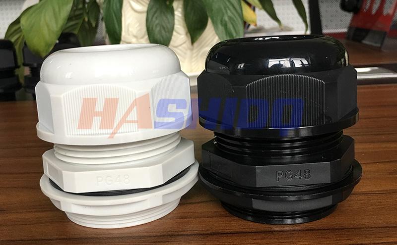 PG48尼龙电缆接头防水接头格兰头厂家直销 质量保障-- 浙江航仕电气有限公司