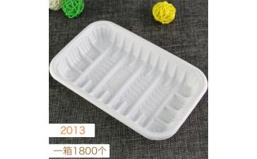 塑料托盘_2013 白色托盘 一次性pp塑料生鲜 蔬菜食品包装-- 东莞市常平勇佳百货店