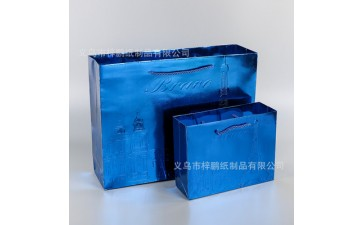 牛皮纸袋_厂家定制牛皮纸袋 手提服装礼品纸袋广告宣传