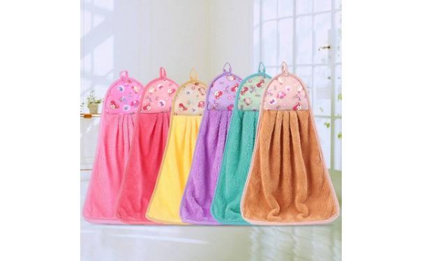 珊瑚绒毛巾_超细纤维珊瑚绒毛巾厨房卫生间卡通促销