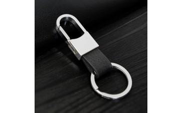 金属钥匙扣_汽车钥匙扣男士金属真皮钥匙扣赠品创意挂件定制刻字logo-- 义乌硕佳工艺品有限公司