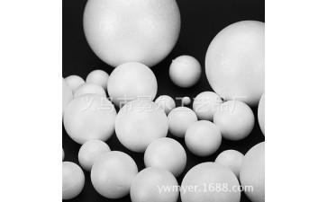 手工材料_厂家直销各种规格 实心泡沫球 DIY手工材料-- 义乌市冕尔工艺品厂