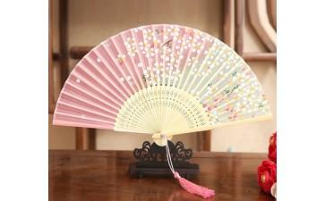古风小折扇_风舞蹈古风小折扇 女士可爱扇子 仿丝 爆款-- 长沙善者工艺品贸易有限公司