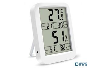 电子温湿度计_新款室内同屏高低温湿度记忆高精度数字电子温湿度计-- 深圳市金拓嘉贸易有限公司