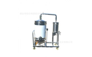 酿酒设备_304不锈钢电热蒸馏器 蒸馏桶蒸馏器酿酒白酒桶-- 烟台帝伯仕啤酒技术有限公司