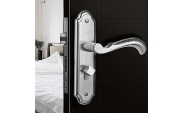 新款房门锁具_太豪新款房门锁具 执手锁2个厚面板实心把手双舌-- 永嘉县太豪不锈钢制造有限公司