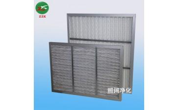 过滤材料_厂家折叠式空气过滤器中央空调过滤网过滤材料过滤器-- 上海照阔净化设备有限公司