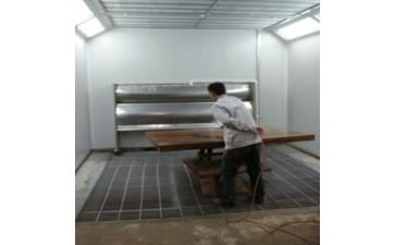 家具喷漆房_漆雾处理设备 家具喷漆房 厂涂装除尘-- 济南源沐环保设备有限公司