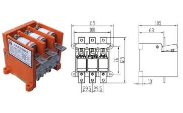 CKJ5-400交流真空接触器-- 乐清市凯德电器有限公司