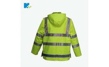 反光背心_环卫led反光衣 高亮防水雨衣反光交通路政安全-- 东莞市年年旺电子制品有限公司