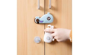 婴儿用品_橱柜门鲸鱼儿童锁手婴儿防护用品抽屉-- 上海永亮商贸有限公司
