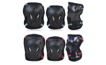 运动护具_加厚牛头护具轮滑护具健身运动护具6件套滑板跨境专供-- 深圳市麦高体育用品有限公司
