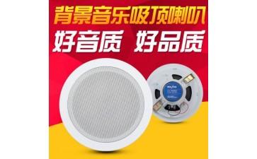 背景音乐喇叭_吸顶音乐天花喇叭吸顶公共广播定阻喇叭-- 杭州东盛电子有限公司
