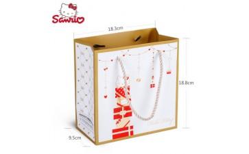 手提纸袋_包装_HelloKitty手提纸袋包装制品礼品袋-- 深圳市古杰士家居用品有限公司