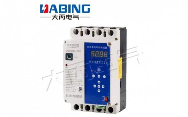 重合闸DBEM1L系列数码管型数显剩余电流动作光伏断路器