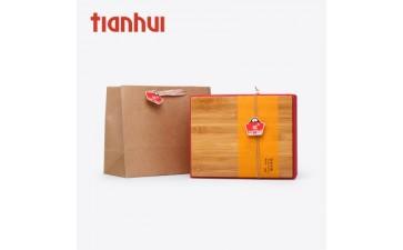 茶叶包装_天汇高档茶叶包装竹盒定做 竹制品工艺品 红色竹编定制-- 泉州天汇包装用品有限公司