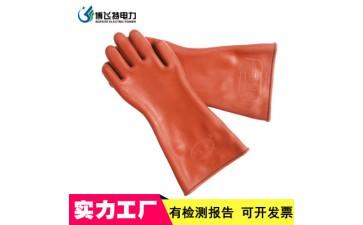 橡胶手套_12kv绝缘手套双安作业胶皮手套电工高压橡胶绝缘劳保防护-- 河北博飞特电力设备有限公司