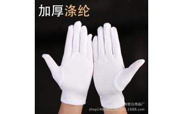 手套珠宝_上三白色礼仪保暖阅兵珠宝表演魔术司机防护-- 义乌市韵哲日用品厂
