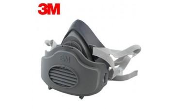 防护面罩_3200防尘面具工业粉尘打磨作业煤矿防护-- 济南林凯赛福安防设备有限公司