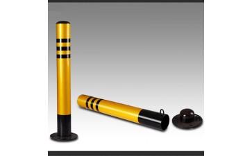 铁立柱_60cm钢管警示柱隔离柱铁固定立柱反光柱防撞栏挡车器安全桩-- 天台路诚交通设施经营部