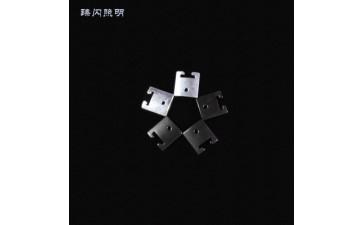 镀锌固定钢片_led灯具配附件 五金冲压加厚挂片镀锌固定钢片-- 深圳市迈肯光电有限公司
