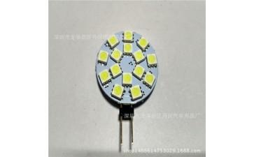 节能水晶灯_厂家直销家用LED灯 G4-5050-15SMD 吊灯 LED节能水晶灯-- 深圳市龙华新区丹闵汽车用品厂