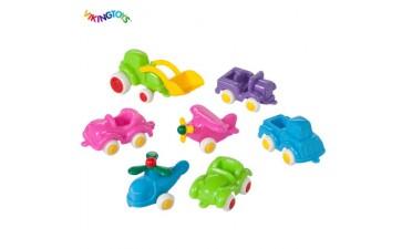 儿童玩具_益智儿童玩具维京迷你小车套装-帕斯特尔系列-- 深圳优比商贸有限公司