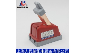 人民刀开关_厂家直销 上海人民HD11F-63A/2P单投刀开关220V-- 浙江诚强电气有限公司