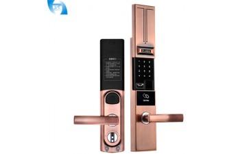 室内门锁_物联网智能门锁电子家用指纹锁密码刷卡锁室内