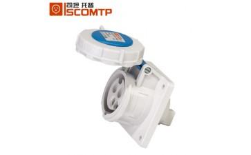防水工业插座_单相三孔插座 防水工业 暗装直式可混批-- 上海司坦电气有限公司