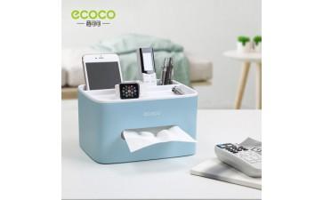 遥控器收纳盒_创意桌面收纳纸巾盒 茶几客厅遥控器收纳盒 实用简约-- 中山市意可可生活用品有限公司