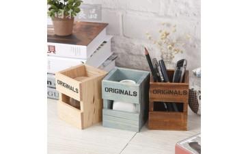 办公用品_zakka单格多功能笔筒 创意礼品学生文具桌面收纳办公