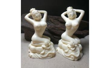 雕刻工艺品_创意裸女文玩手把件崖柏黄杨木雕摆件雕刻工艺品男把玩件情趣