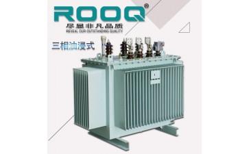 油浸式电力变压器_厂家直销10/0.4kv三绕组配电变压器 s11三相油浸式电力-- 浙江卢格电力设备有限公司