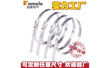 不锈钢扎带_森美厂家批发 不锈钢扎带 5*250不锈钢定做 价格-- 乐清森美电气有限公司