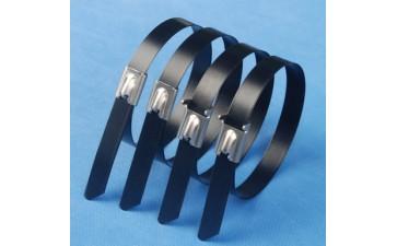 不锈钢扎带_厂家直销304 201不锈钢扎带 喷塑不锈钢扎带 铁皮批发