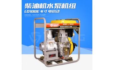 柴油机水泵_4寸柴油机水泵 自吸高压消防 农用灌溉-- 合肥路德维希工程机械有限公司