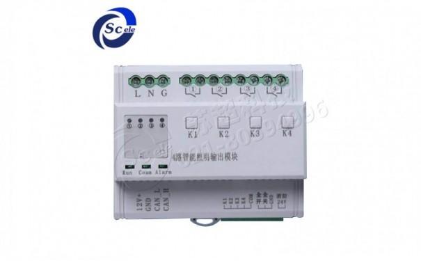 智能控制照明模块 4路 16A